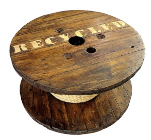 Mesa-Carretel Recycled